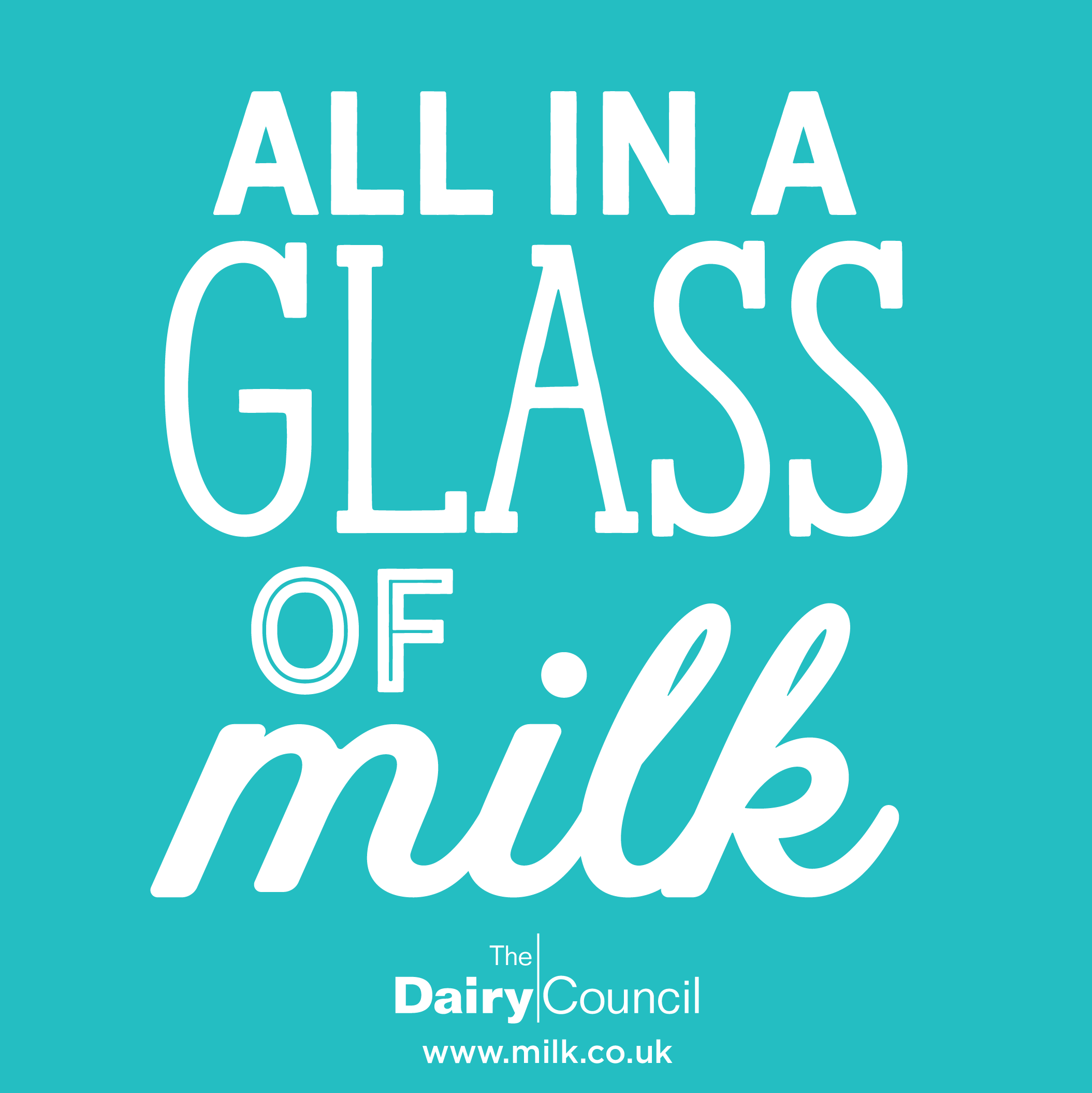 All in a glass of milk