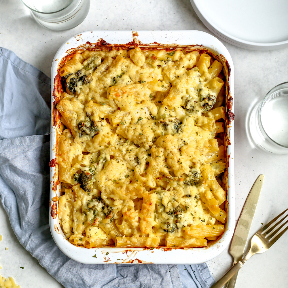 cheddar and broccoli pasta bake