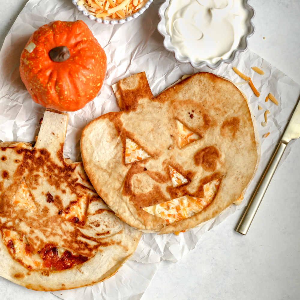 To accompany Halloween Quesadillas recipe